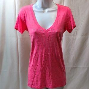 Victoria Secret PINK XS Womens T Shirt PJ NYC